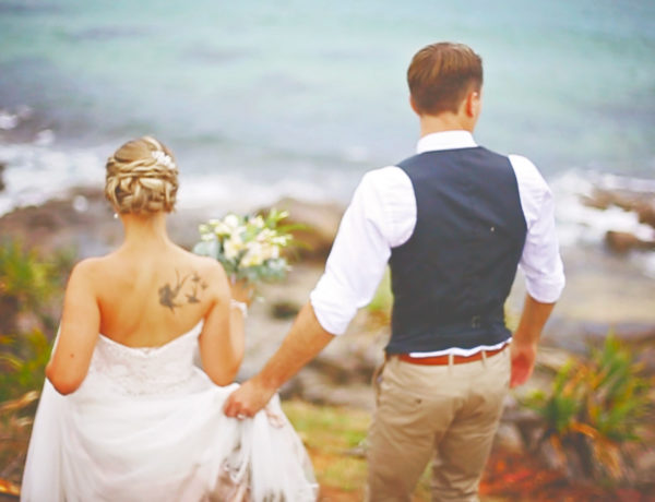 Surfair Marcoola Beach Wedding