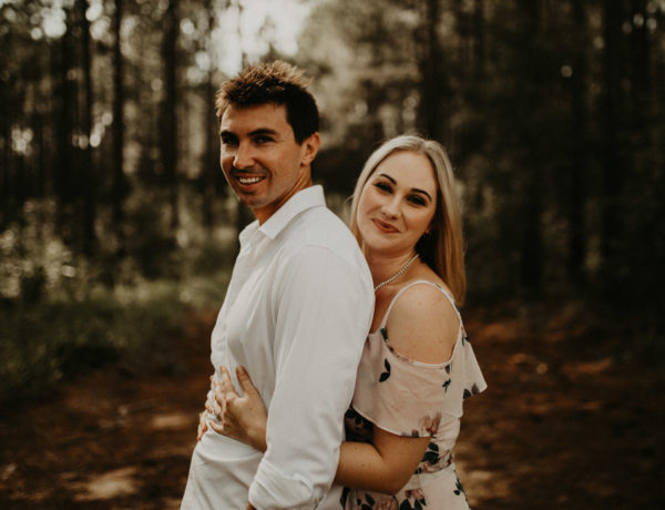 sunshine coast engagement session