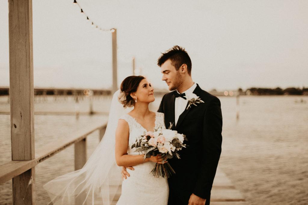 sandstone point hotel wedding