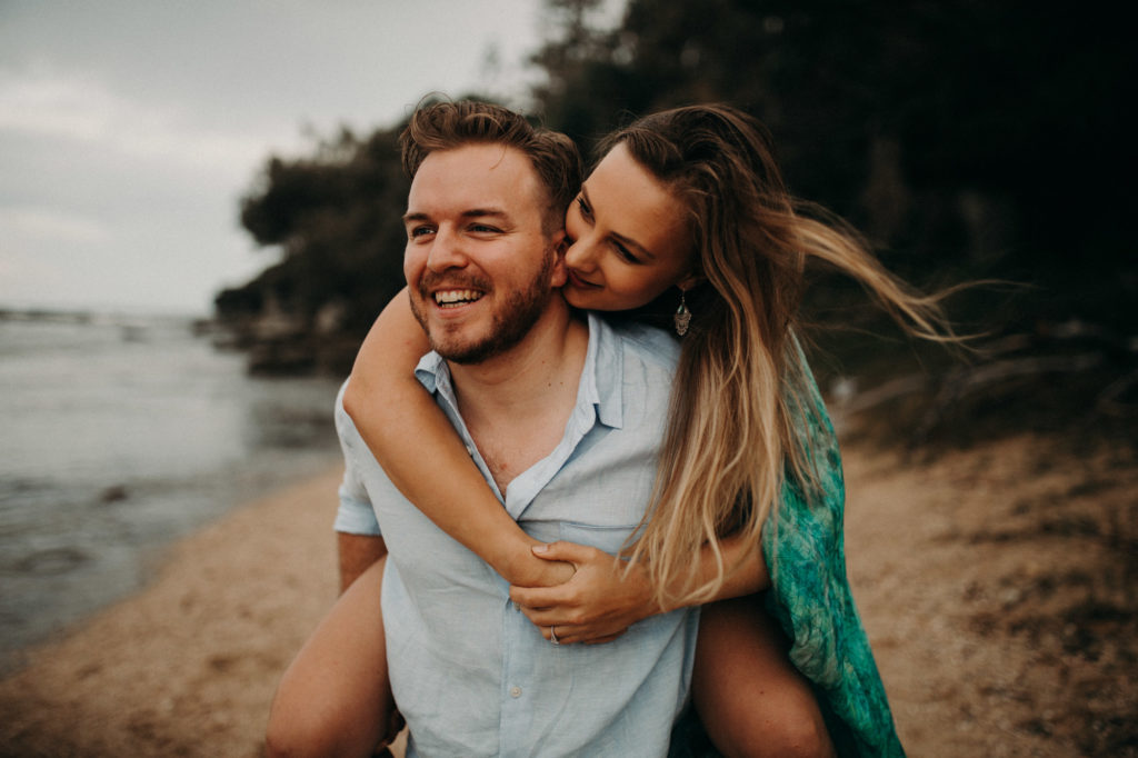 sunshine coast engagement sessions