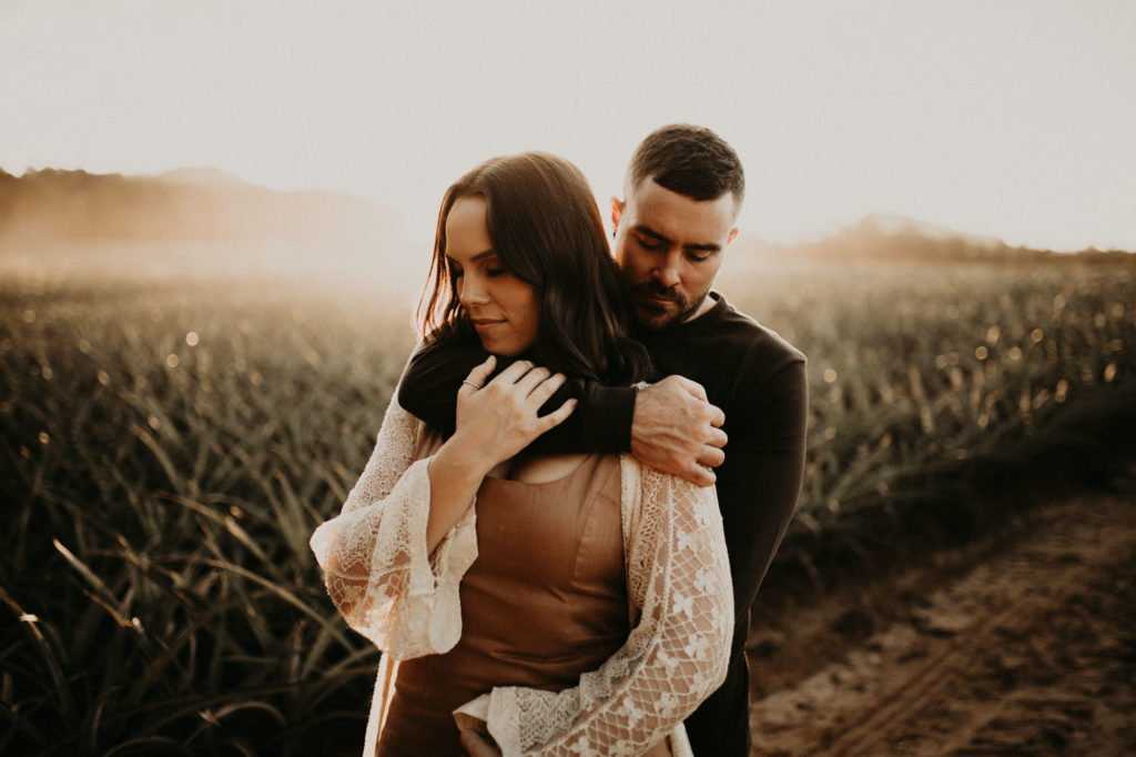 pineapple fields lovers shoot
