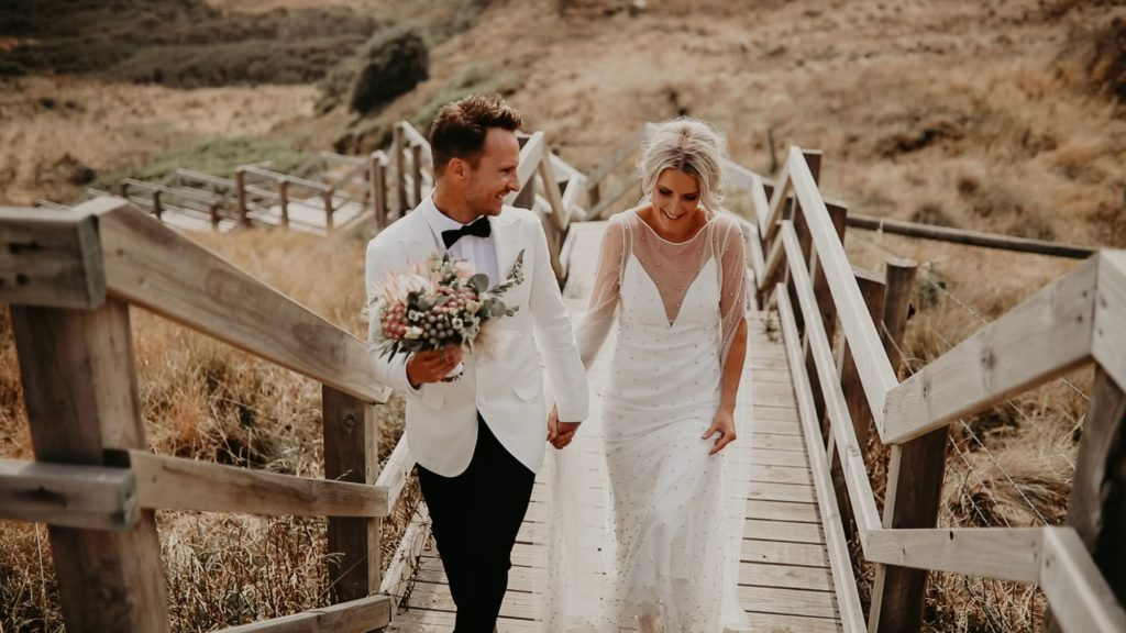 phillip island wedding film